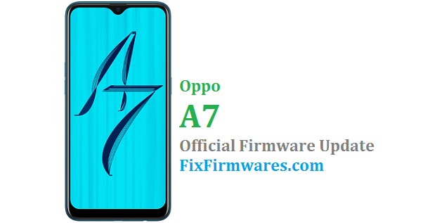 Oppo A7 - CPH1901 Official - Oppo Firmware Download
